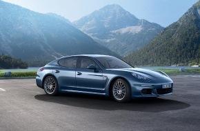 Porsche Schweiz AG: Dreiliter mit 300 PS: Porsche Panamera Diesel wird noch attraktiver / Neuer Motor, mehr Leistung, optimierte Fahrdynamik (BILD/DOKUMENT)