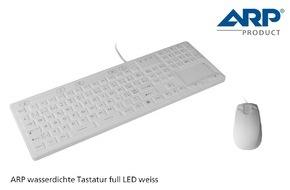 ARP Schweiz AG: Die neue ARP Tastatur für besondere Arbeitsplätze