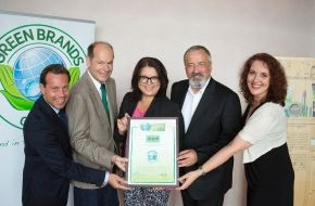 Green Brands: alverde NATURKOSMETIK erhält erneut das Gütesiegel GREEN BRAND Germany