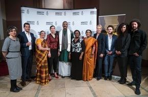 Amnesty International: Amnesty Deutschland verleiht den 08. Menschenrechtspreis an Henri Tiphagne aus Indien