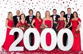 """ARD Das Erste: Das Erste / """"Rote Rosen"""" feiert 2000 Folgen und eine neue Hauptdarstellerin / Anne Moll spielt im neuen Kapitel der ARD-Telenovela eine Heldin mit einem Lebensgeheimnis"""