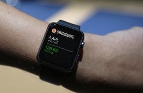 Swissquote Bank SA: Swissquote erste Schweizer Bank mit App für Apple Watch