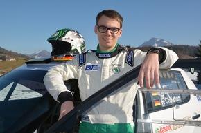 SKODA AUTO Deutschland feiert Comeback in der Deutschen Rallye-Meisterschaft