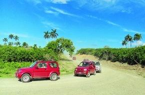alltours flugreisen gmbh: Neue Jeep Safari auf Kuba - alltours baut Angebot für Rundreisen in der Karibik weiter aus / Zwölf Rundreisen in Mexiko, Thailand, auf Sri Lanka, Kuba und Bali