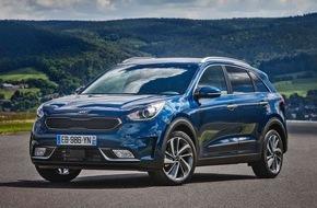 KIA Motors Deutschland GmbH: Kia gibt Preise für Hybrid-Crossover Kia Niro* bekannt