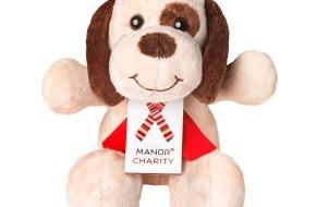 Manor AG: Action caritative de Noël «Manor Charity» 2012: Manor soutient les enfants et les jeunes par la vente de chiens en peluche