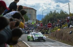 Skoda Auto Deutschland GmbH: Rallye Spanien: SKODA feiert Doppelsieg mit Tidemand und Kopecky