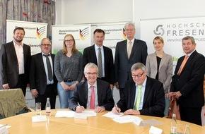 Hochschule Fresenius: Damit der Spitzensport keine Sackgasse wird / Olympiastützpunkt Hessen kooperiert mit der Hochschule Fresenius