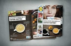 LIDL: Lidl stellt Kaffee in den Fokus der Qualitätsoffensive / Am 7. März startet der nächste Themen-Spot im TV