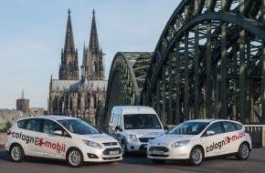 """Ford-Werke GmbH: Elektromobilitäts-Modellprojekt """"colognE-mobil"""" auf der Hannovermesse 2014 (FOTO)"""