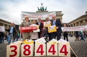 Christoffel Blindenmission e.V.: 38.444 Unterschriften für CBM-Kampagne / Paralympics-Star Bentele übergibt Stimmen an Parlamentarische Staatssekretärin Kopp