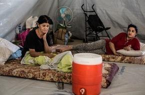 Caritas Schweiz / Caritas Suisse: Caritas leistet Winterhilfe in den irakischen Regionen Erbil und Dohuk