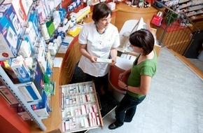 ABDA Bundesvgg. Dt. Apothekerverbände: Zahl der Apotheken auf niedrigstem Stand seit 1992