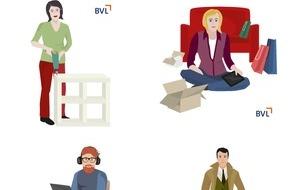 BVL Bundesvereinigung Logistik e.V.: BVL startet Online-Umfrage: Welcher Logistiktyp sind Sie? / Selbsttest ermöglicht Verbrauchern, herauszufinden, welcher Logistiktyp sie sind / BVL schärft Bewusstsein für Logistik