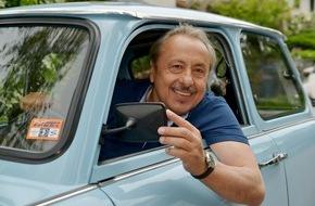 """MDR: """"Go Trabi go forever"""": Für die MDR-Doku reist Wolfgang Stumph noch einmal im Trabi von Bitterfeld nach Rom"""