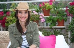 """SAT.1 Gold: Daniela Fuß macht mit """"Mein Gartenglück"""" Lust auf grüne Oasen"""