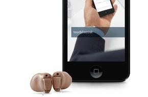Sivantos: Siemens Insio: neue Im-Ohr-Hörgeräte mit innovativer Funktechnologie