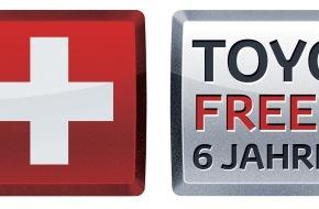 Toyota Schweiz AG: Toyota senkt die Listenpreise in der Schweiz und lanciert neu das Dienstleistungsprogramm Toyota Swiss Care