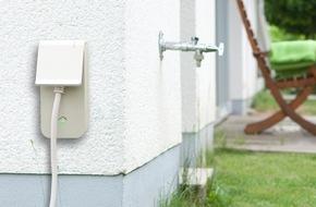 RWE Effizienz GmbH: Mit RWE SmartHome entspannt durch die Gartensaison