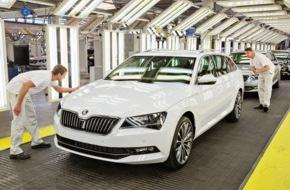 Skoda Auto Deutschland GmbH: Neuer SKODA Superb Combi: Produktionsstart in Kvasiny