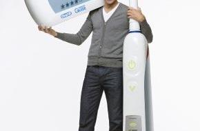 """Oral-B: Anlässlich des """"Tages der Zahngesundheit"""": Machen Sie Zähneputzen zum täglichen Fitnesstraining - so wie Kai Pflaume! (mit Bild)"""