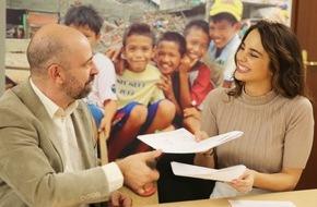 Fondation Terre des hommes: Miss Schweiz 2014 Laetitia Guarino ist neue Terre des hommes Gesundheitsbotschafterin
