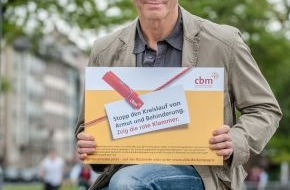 Christoffel Blindenmission e.V.: Hannes Jaenicke unterstützt CBM-Kampagne