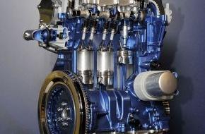 Ford-Werke GmbH: Ein Fünftel aller Ford-Fahrzeuge in Europa wird mit dem preisgekrönten 1,0-Liter-EcoBoost-Benzinmotor angetrieben (FOTO)