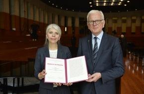 Konrad Adenauer Stiftung e. V.: Marica Bodrozic mit dem Adenauer-Literaturpreis ausgezeichnet