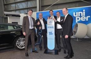 RWE International SE - Effizienz: RWE Effizienz und Uniper beabsichtigen Zusammenarbeit bei der Elektromobilität