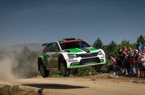 Skoda Auto Deutschland GmbH: Doppelsieg bei der Rallye Italien: SKODA besteht die ultimative Härteprüfung