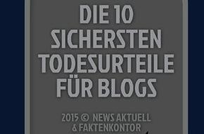 news aktuell GmbH: Die zehn größten Fehler in Corporate Blogs (FOTO)