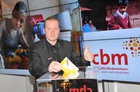 Christoffel Blindenmission e.V.: Joey Kelly eröffnet CBM-Kampagne / CBM fordert: Stopp den Kreislauf von Armut und Behinderung