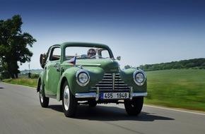 Skoda Auto Deutschland GmbH: SKODA startet mit glanzvollen Klassikern bei der Oldtimer-Rallye Wiesbaden