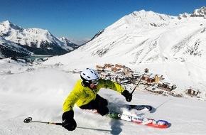 Tourismusbüro Kühtai: Ski Industries of Great Britain (SIGB) testen im Kühtai die Skimodelle der Wintersaison 2015/16