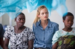 SolidarMed: Fotostrecke - Nadine Strittmatter engagiert sich für Afrika