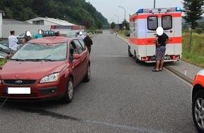 Polizeipräsidium Trier: POL-PPTR: Lebensbedrohliche Verletzungen erlitt ein Radfahrer nach einem Zusammenstoß mit einem Pkw.