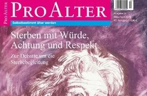 Kuratorium Deutsche Altershilfe: Sterben mit Würde, Achtung und Respekt