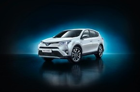Toyota Schweiz AG: Toyota enthüllt den neuen RAV4 4x4 Hybrid