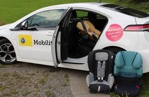 Touring Club Schweiz/Suisse/Svizzero - TCS: Kindersitzeinbau: Familienautos auf dem Prüfstand