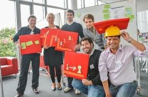 HPI Hasso-Plattner-Institut: Hasso-Plattner-Institut: Dreimonatiges Intensivtraining für Innovatoren erfolgreich eingeführt / Design Thinking