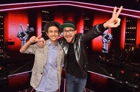 "SAT.1: Lukas (13, Fürstenfeld/AT) aus Team Mark Forster ist ""The Voice Kids"" 2016"