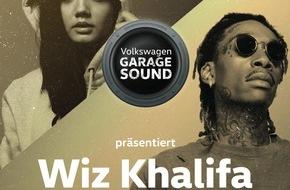 VW / AMAG Automobil- und Motoren AG: Musik auf der Überholspur: Erstes «Volkswagen Garage Sound»-Konzert in der Schweiz mit US Rapper Wiz Khalifa