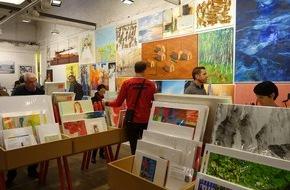 Kunstsupermarkt: Lust auf Kunst?  6000 Originale zu unschlagbaren Preisen.