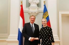 Fürstentum Liechtenstein: ikr: Aussenminister Jean Asselborn auf Besuch in Liechtenstein