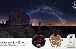 MDR: Ausgezeichnete 360°-Aufnahmen der BIWAK-Panoramagalerie Sächsische Schweiz / Internationale Preise für interaktives Projekt des MDR-Bergsportmagazins