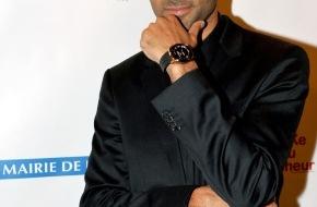 TISSOT S.A.: Tony Parker erhält anlässlich der Par Coeur Gala in Paris seine erste Limited Edition Uhr von Tissot