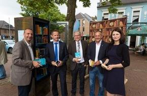 """RWE Deutschland AG: 100 Mal Literatur """"to go"""": RWE Bücherschränke laden zum Schmökern und Tauschen ein / Große Jubiläumsfeier in Schwalmtal am Niederrhein"""