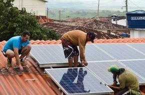 MEP Werke: MEP Werke spenden Solaranlage für soziale Einrichtung in Brasilien