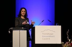 MSD Merck Sharp & Dohme AG: «20 Jahre KVG: Woher - Wohin?» / Trends in der Medikamentenentwicklung diskutiert an den 12. Trendtagen Gesundheit Luzern